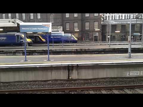 Trains at: London Paddington, GWML, 14/11/16