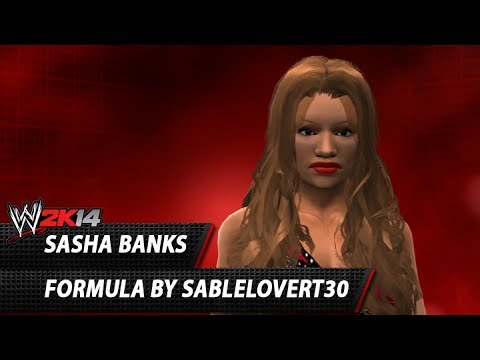 WWE 2K14: Sasha Banks CAW Formula By SableLoverT30