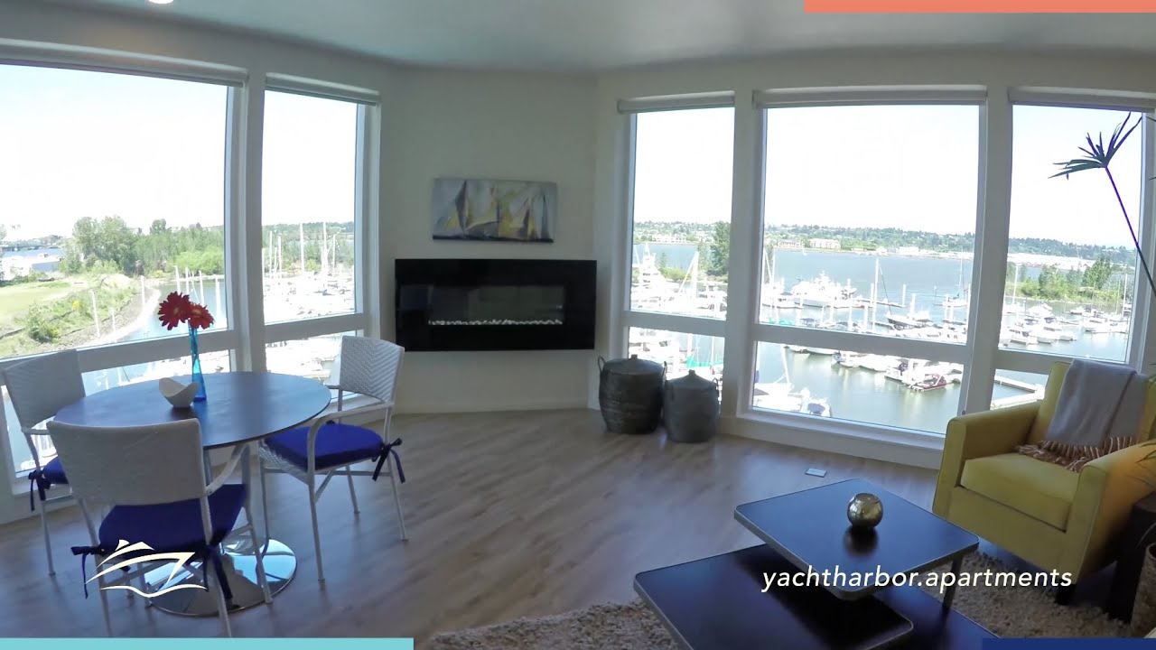 Apartment Interiors At Yacht Harbor Club Luxury Riverfront Living In Portland Or Youtube