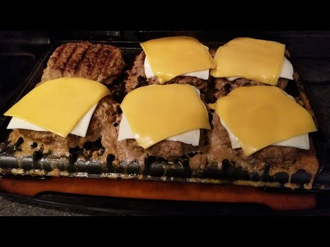 How long do burgers take on the george foreman grill