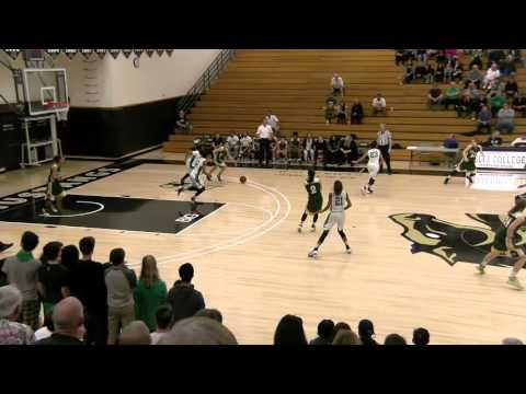 Pinewood girls basketball, Open Division, NorCal semi-final vs St Mary's Stockton, Mar 15, 2016