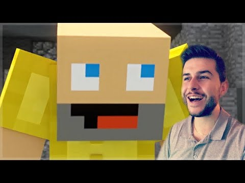 REACTING TO BEDWARS FULL MINECRAFT MOVIE!! Minecraft Animations!