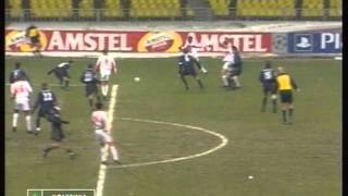 2000 November 22 Spartak Moscow Russia 4 Arsenal England 1 Champions League