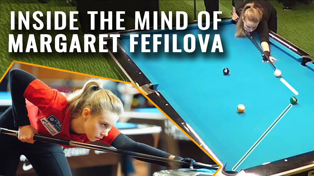 Playing Pool Against Difficult Opponents with Margaret Fefilova
