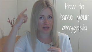 How to tame your amygdala