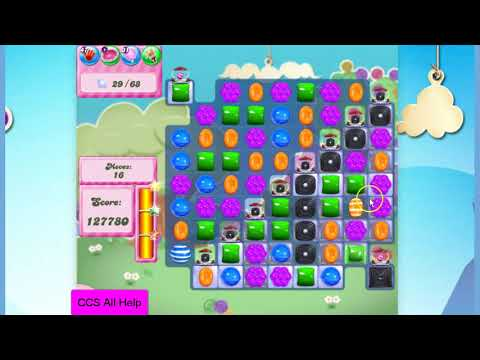 Candy Crush Saga Level 2816 NO BOOSTERS Cookie