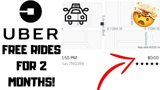 How To Get FREE Uber Rides For 2 Months 2020!
