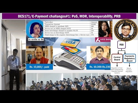 BES171/E-Payment #1: MDR, PoS, Interoperability, BharatQR, Ratan Watal, C.Naidu & Budget provisions