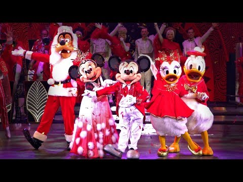 [4K] Mickey's Christmas Big Band 2019 - Disneyland Paris