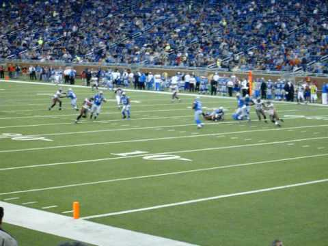 (Lions vs. Buccaneers) Lions play hard tackle for Daunte Culpepper