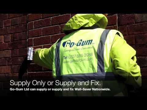 Go-Gum Wall-Saver Invisible Graffti and Stain Repellent