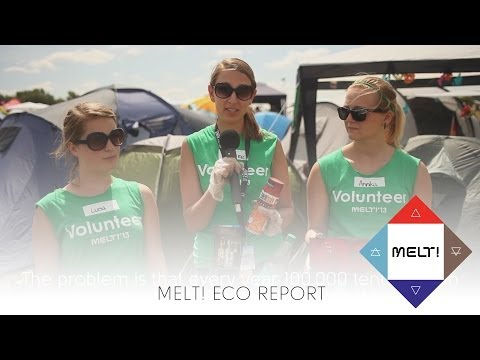 The Tent, the Bike & the Toilet - Melt! Eco Report (with subtitles)