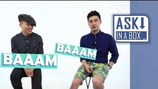 ASK IN A BOX: Dynamic Duo(다이나믹듀오) _ BAAAM(뱀) [ENG/JPN SUB]