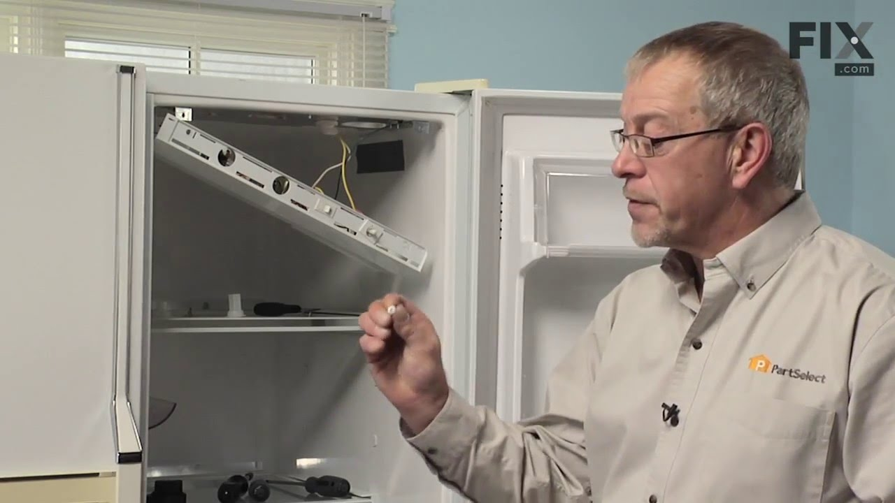 Kenmore Refrigerator Repair – How to replace the Defrost Timer  YouTube