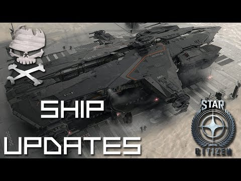 Star Citizen : Ship Updates Hammerhead interiors some Eclipse then a cloak/stealth ramble 04-06-2018