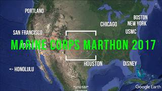 Marine Corps Marathon 2017 - Course Preview - Google Earth VR Flyover