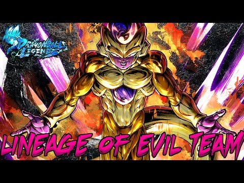 Lineage Of Evil Team Building Guide | Dragon Ball Legends