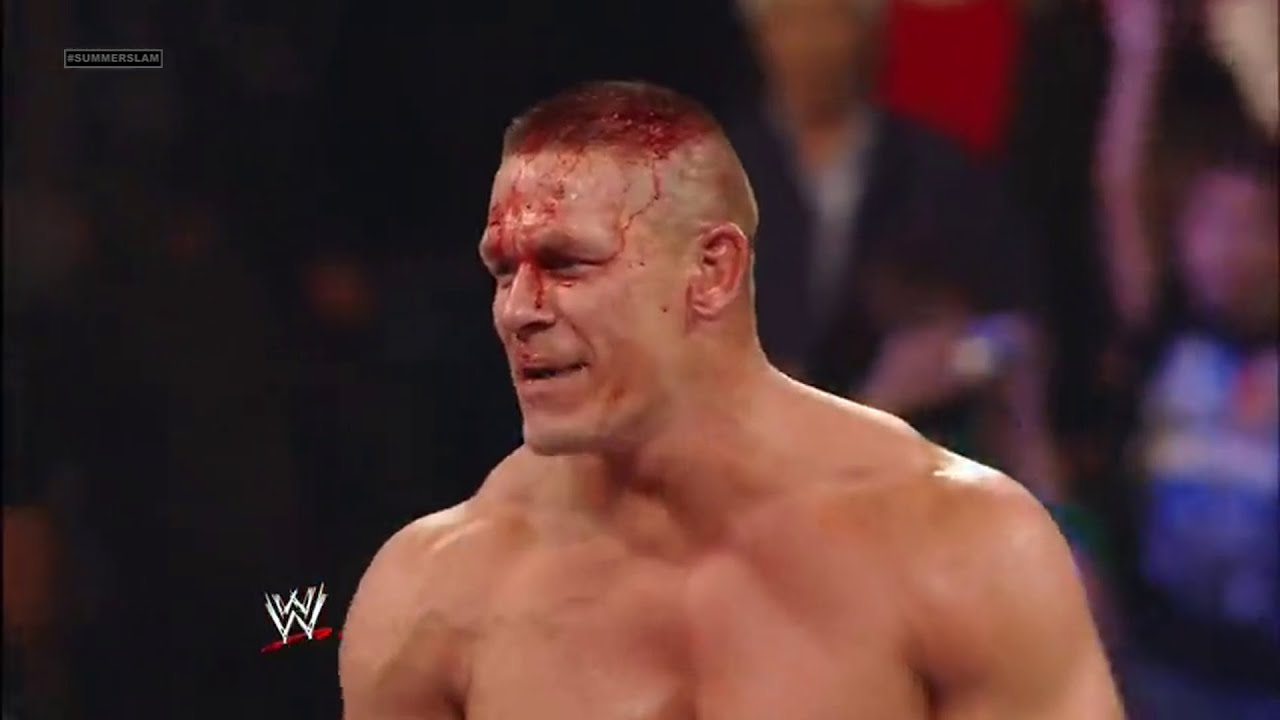 Brock Lesnar Vs John Cena