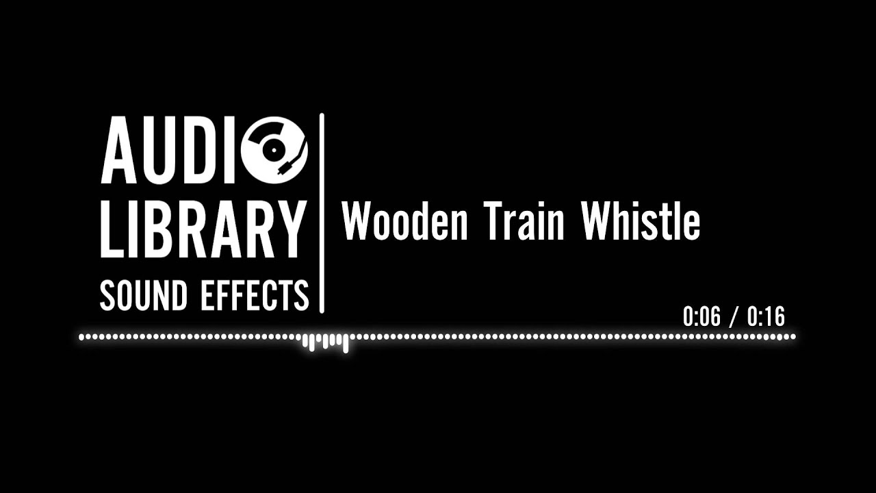 Wooden Train Whistle - Sound Effect