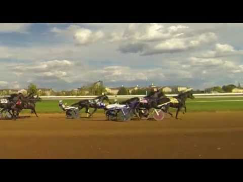 Red Mile 10-8-15 Race 9 (John Campbell) -Shot with 4 cameras including 4K