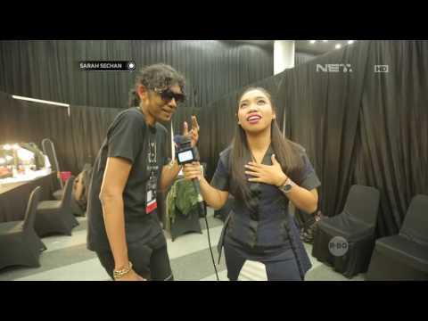 Keseruan Mumu Saat Berada di Backstage HUT NET 4.0 Indonesian Choice Awards 2017