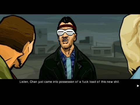 Grand Theft Auto: Chinatown Wars Easter Egg - Huang Lee's voice in HD