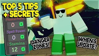 TOP 5 TIPS AND SECRETS *NEW UPDATE COMING* DUNGEON QUEST ROBLOX