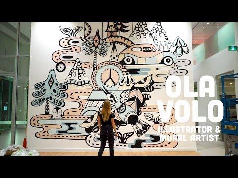 Ola Volo: Illustrator & Mural Artist