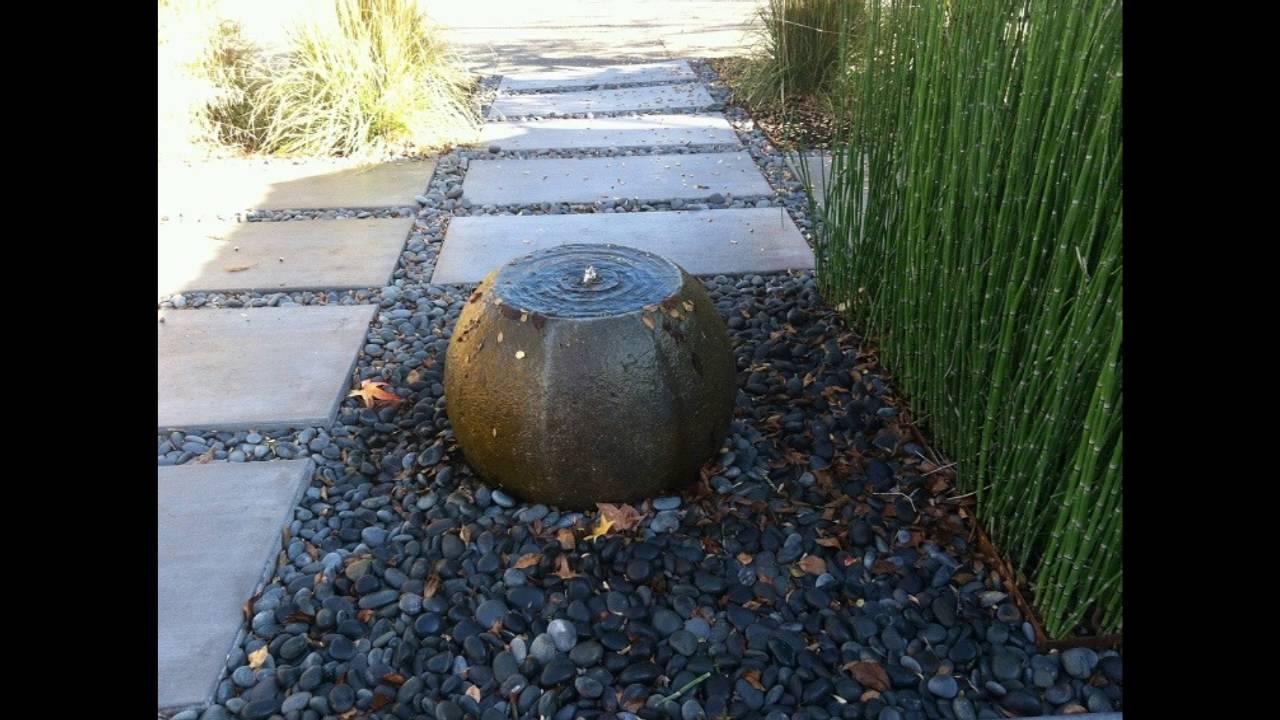 Decoracion de jardines zen estilo oriental youtube - Jardines zen exteriores ...