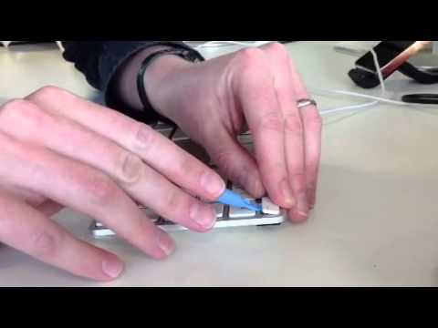 How to remove keys from an iMac keyboard