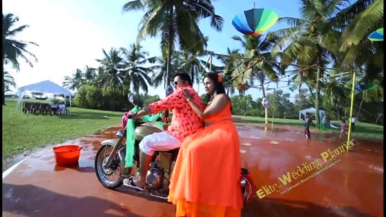 Wedding In Goa Day 1 Carnival And Retro Theme Youtube