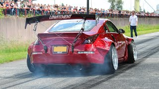 Modified & Tuner cars leaving a Carshow | Cars & Coffee Twente 2019