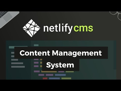 Netlify CMS - Content Management System