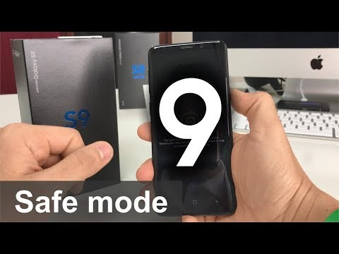 How To Get Samsung Galaxy S9 IN & OUT Of Safe Mode