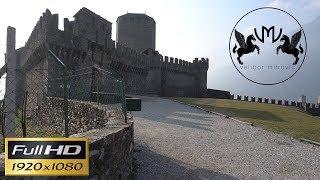 The castle of Montebello ¦ Castello di Montebello ¦ Bellinzona ¦ Ticino ¦ Switzerland ¦ Full HD