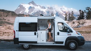 VAN TOUR | Solo Female Photographer Lives Full-Time On The Road