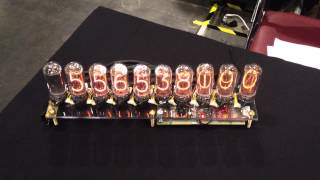 Incrementing Nixie Clock