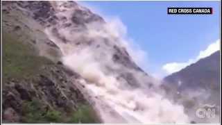 Los deslizamientos tras el terremoto en Nepal