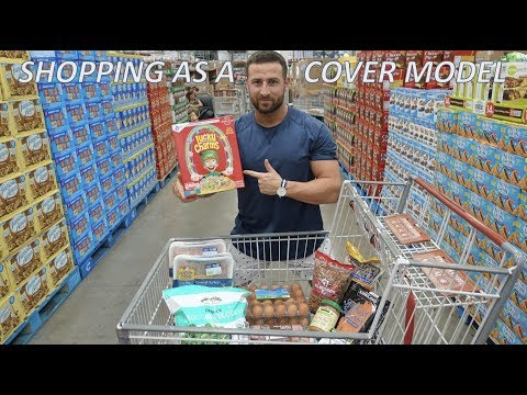 SHOPPING AS A COVER MODEL | HAWAII FOOD SHOP