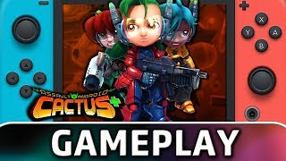 Assault Android Cactus+ | First 10 Minutes on Switch