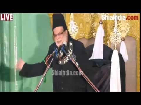 Maulana Ali Agha Baqueri Addressing Majlis at Inayath Jung 1436 Hijri