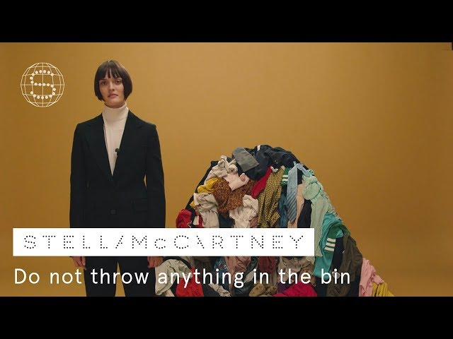 5. Do not throw anything in the bin | Stella McCartney