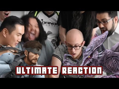 Smash Bros Ultimate Reaction (ft. PG's ESAM, MVD, Alpharad, Nakkiel, & more)