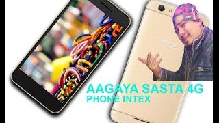 Intex aqua young 4g phone review in Hindi.under 6000 rupees 4g Phone