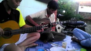 mưa rừng song tấu guitar ^.^