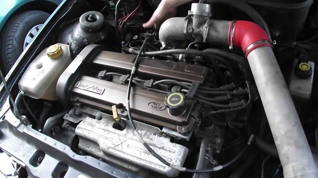 Ford Escort Mk4 With Zetec Engine From Mondeo Youtube