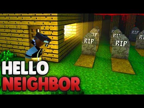 Hat der NEUE NACHBAR eine Chance ?! 😰   Minecraft Hello Neighbor
