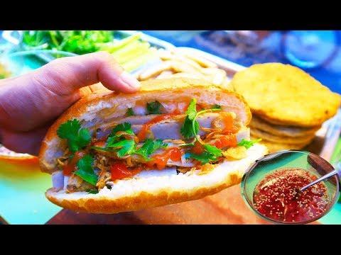 Xe Bánh Mì Chả Cá chuẩn Nha Trang với Tô Nước Mắm Sệt Không ở đâu có / ĐI Đâu Ăn Gì
