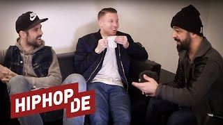 Macklemore, Ryan Lewis & Rooz diskutieren Hate, Erfolge & Hiphop (Interview) #waslos