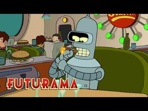 FUTURAMA | Season 1, Episode 3: Robot Roomies | SYFY